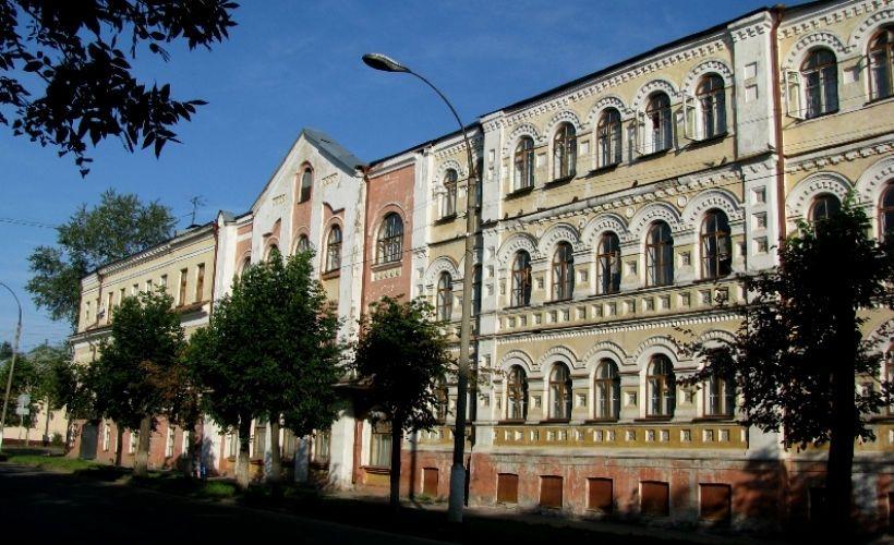 Здание горбольницы