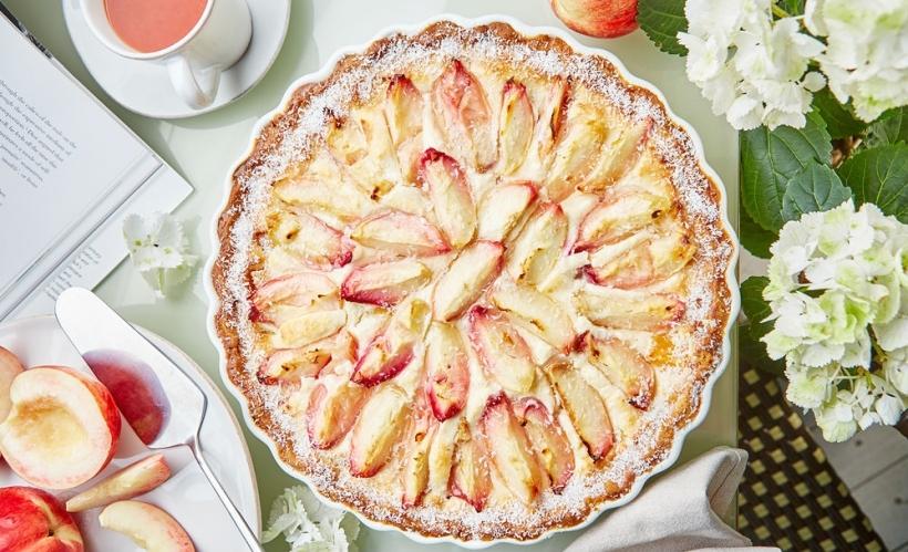 Пирог с яблоками и фисташками в «Жеральдин»