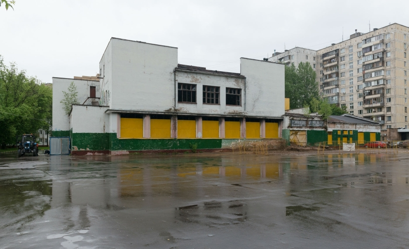 Дом культуры Московского локомотиворемонтного завода