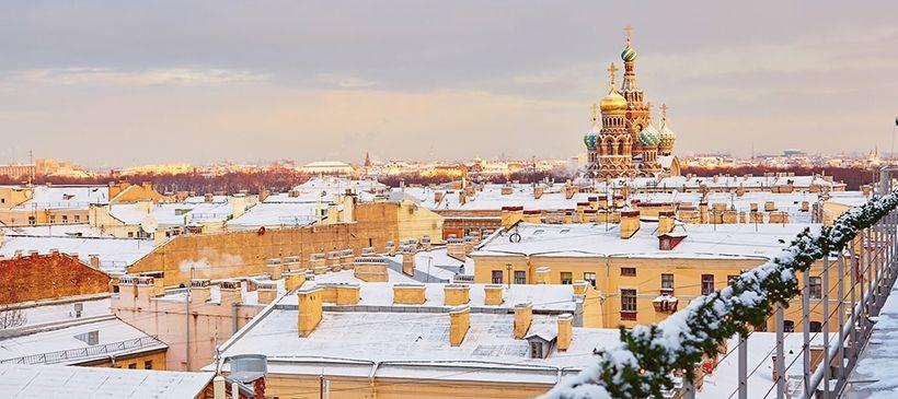 Санкт-Петербург — крыши