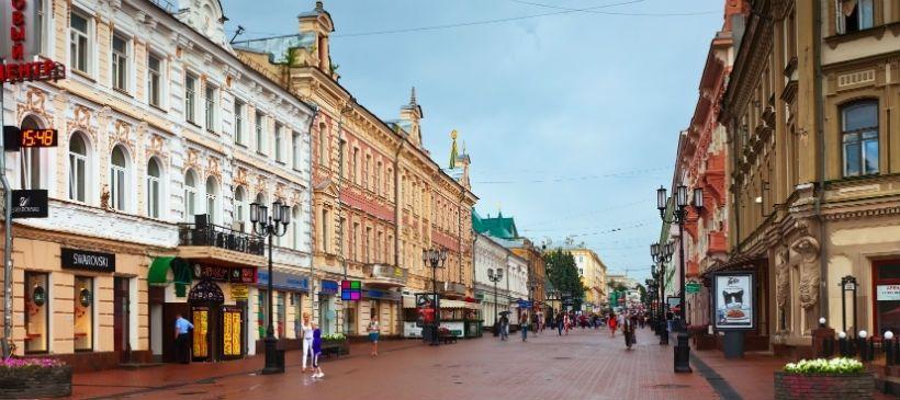 Нижний Новгород — Большая Покровская улица