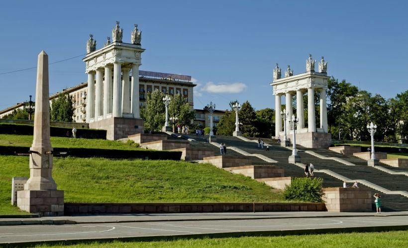 Волгоград — Центральная набережная