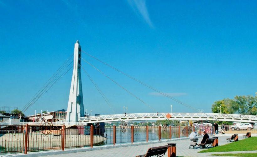 Краснодар — Мост Поцелуев
