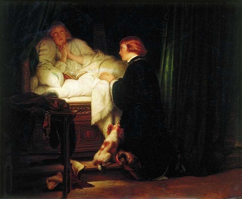 «Дети короля Эдуарда IV», Поль Деларош