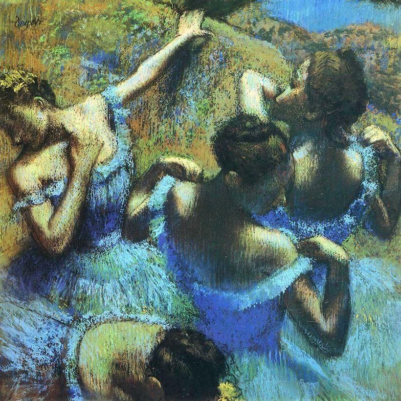 «Голубые танцовщицы», Эдгар Дега