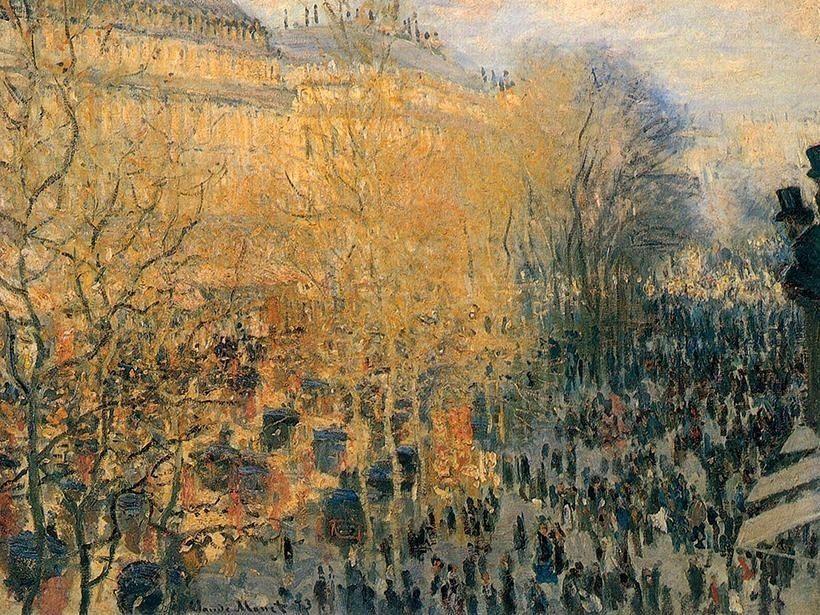 «Бульвар Капуцинок в Париже»,  Клод Моне