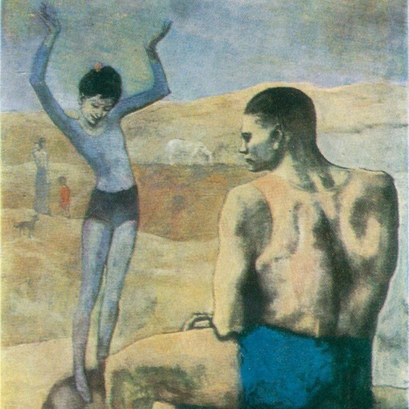 «Девочка на шаре», Пабло Пикассо