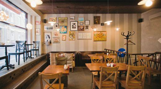 Большое кафе студии Артемия Лебедева