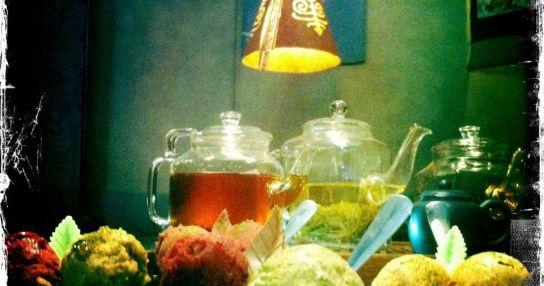 Чайная высота. Мир чая и мороженого.