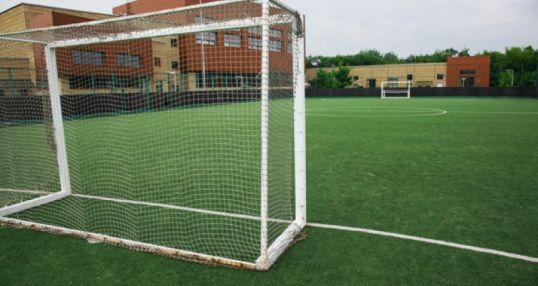 Футбольное поле на «Водном стадионе»