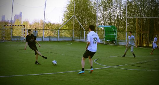 Футбольное поле на Рублёвском шоссе