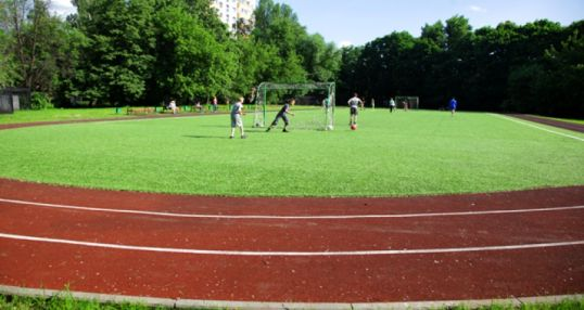 Футбольное поле школы №628