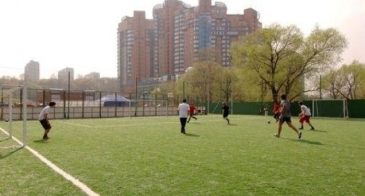 Футбольное поле ЖК «Золотые ключи»