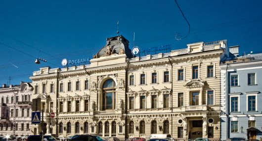 Здание Санкт-Петербургского общества взаимного кредита
