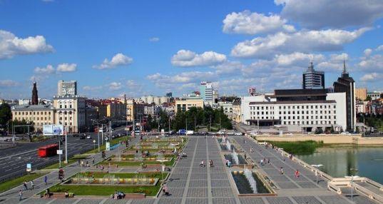 Площадь театра имени Камала