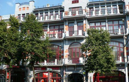 Здание гостиницы «Бристоль»
