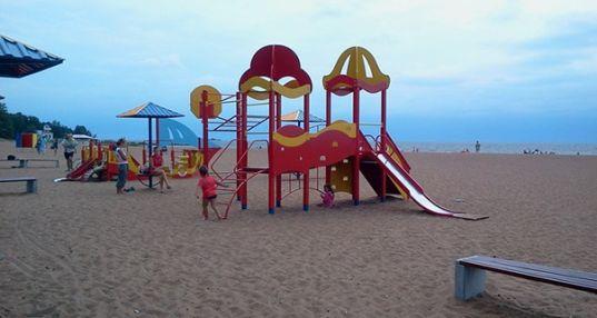 Дубковский пляж