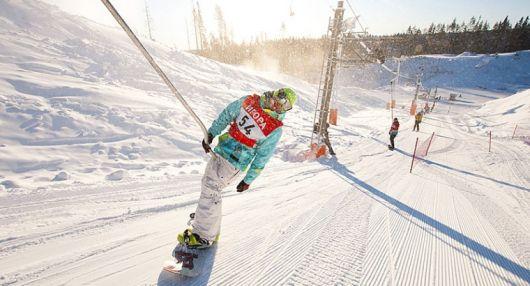 Игора. Горные лыжи