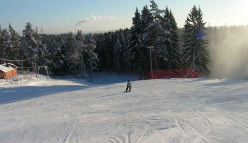 Юкки-парк. Лыжный курорт