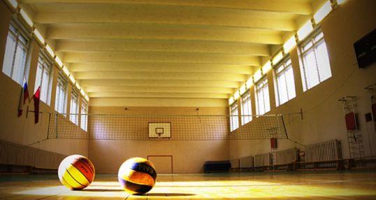 Волейбольно-баскетбольный зал на Нагатинской
