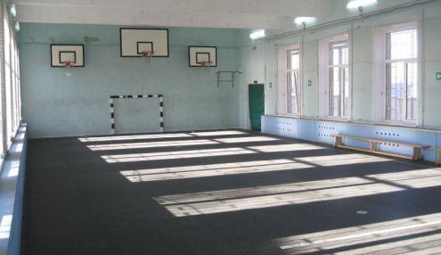 Футбольно-баскетбольный зал на Нагатинском