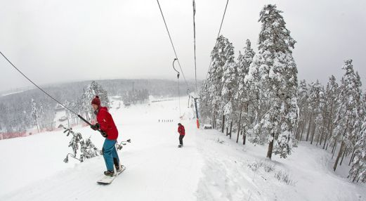 Пухтолова гора. Лыжный курорт