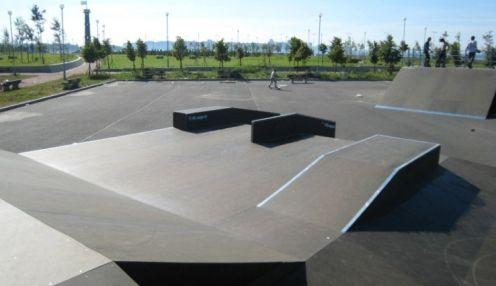 Скейт-парк в Парке 300-летия Санкт-Петербурга