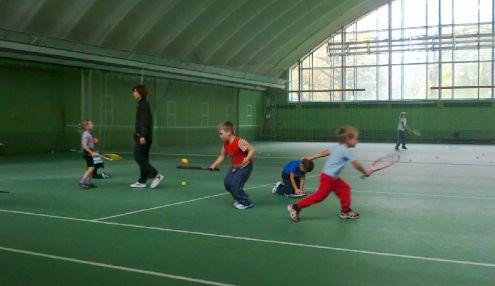 Динамо. Теннисная база