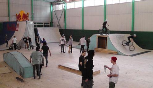 Скейтпарк на Семеновской
