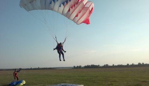 Прыжки с парашютом в Куркачах