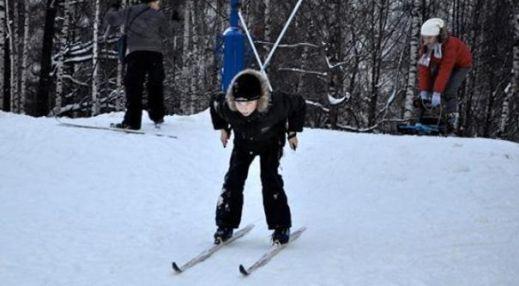 Лыжная база в Лианозовском парке