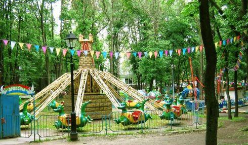 Аттракционы в Бабушкинском парке