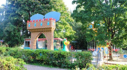 Парк аттракционов в Северном Тушино