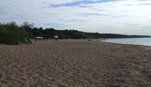 Чудный пляж