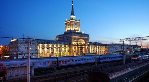 Здание центрального железнодорожного вокзала