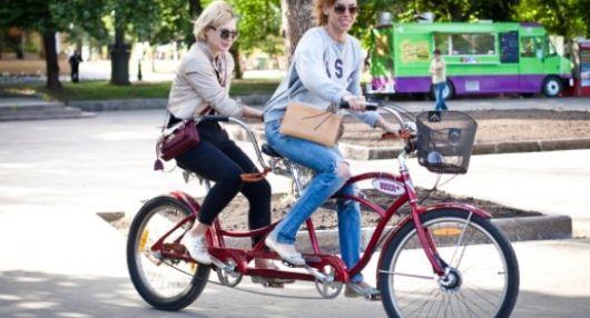Прокат велосипедов в Нескучном саду