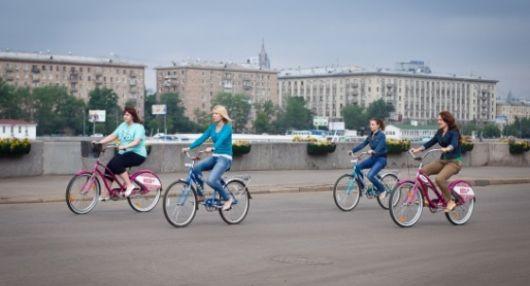 Прокат велосипедов на Воробьевых горах