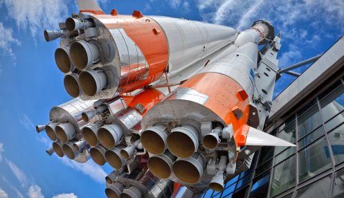 Памятный комплекс ракеты-носителя «Союз»
