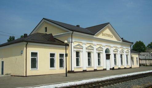 Железнодорожный вокзал Балтийска