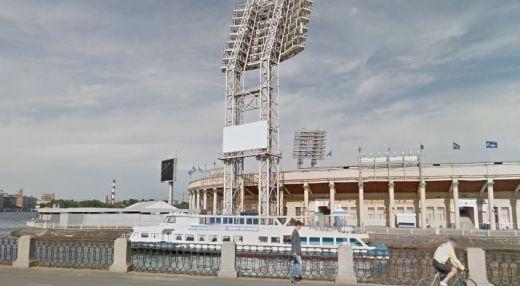 Причал стадиона «Петровский»