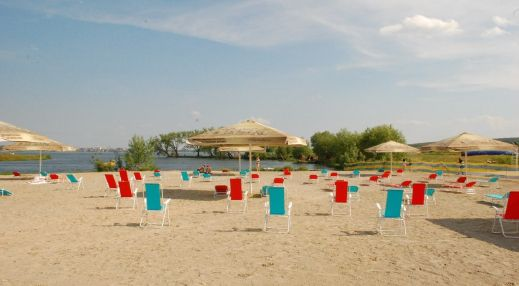 Русские забавы. Пляж