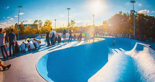 Скейт-парк в Останкино