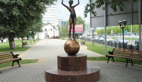 девочка на шаре картинка