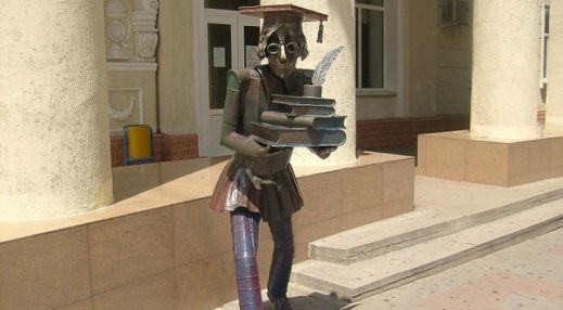 Скульптура студента