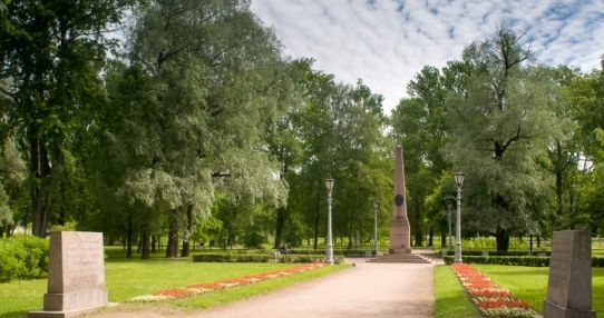 Место дуэли Пушкина на Черной речке