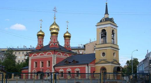 Церковь Николая Чудотворца на Щепах