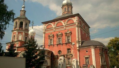 Введенская церковь в Барашах