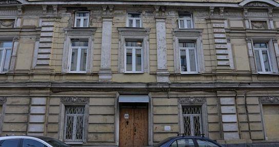 Главный дом усадьбы Е. Маринг-Дарбель