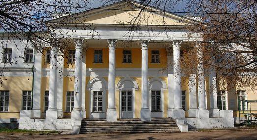 Дача Строганова на Яузе