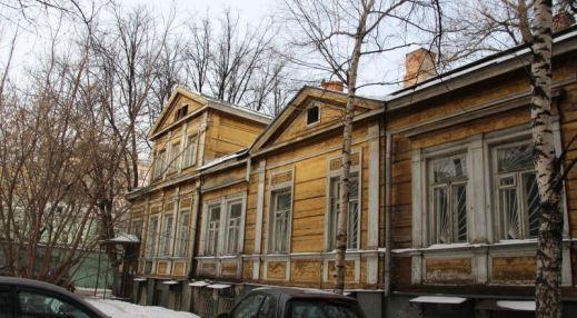 Бывший дом Э. фон Беренса